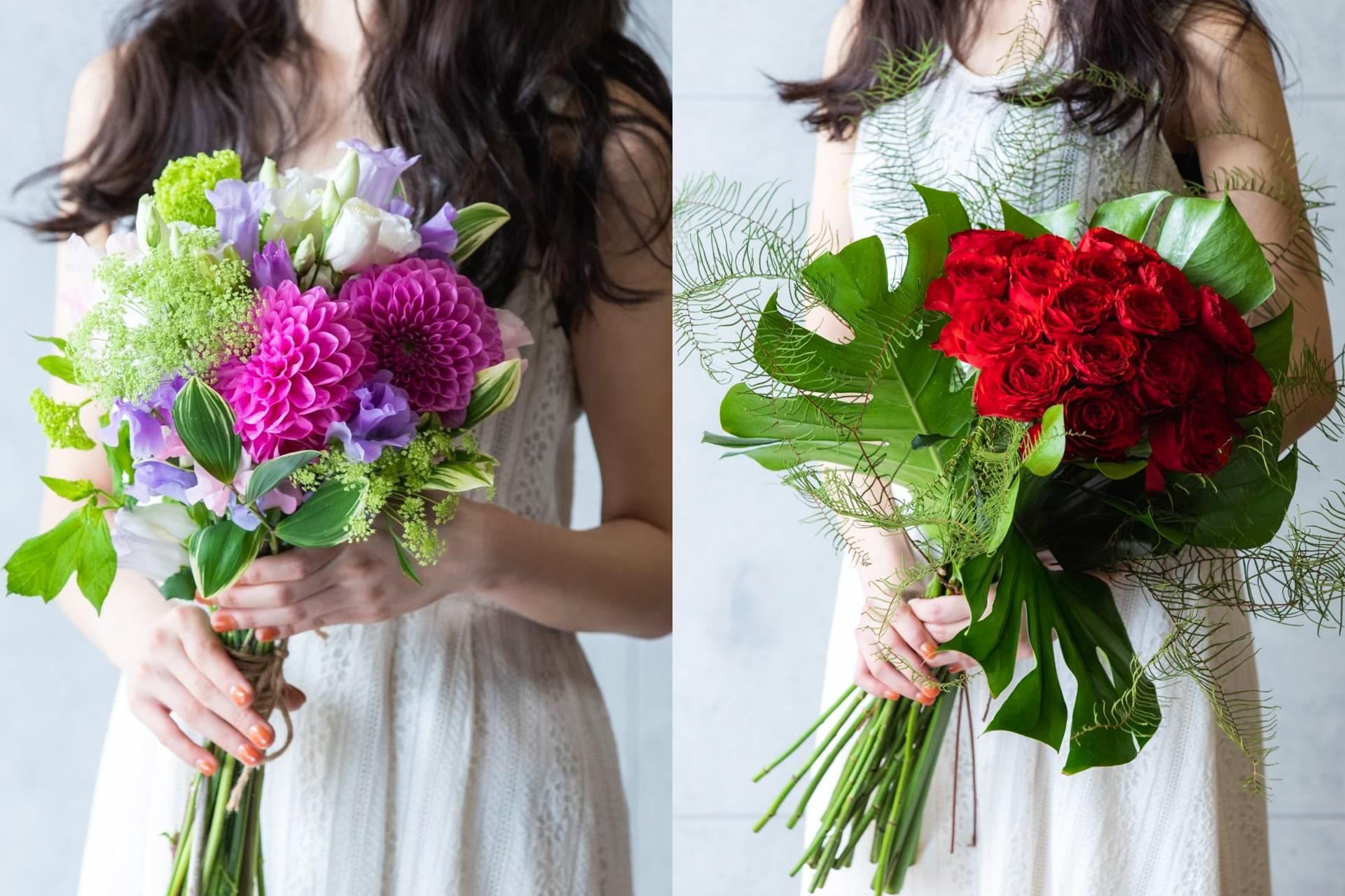 花を贈るときは特別なとき